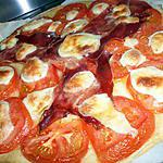recette Tarte aux tomates jambon cru et mozzarella