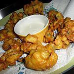 recette Beignets de courgettes et curry