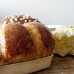 recette La VRAIE brioche du boulanger (sans lait)