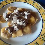 recette Raviolis aux champignon et ricotta