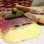 recette Pointe de Brie en papillote de jambon de cru au four