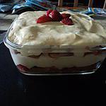 recette Tiramisu au fraise et nectarine