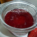 recette Sirop de fraises