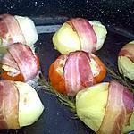 recette pomme de terre farci aux courgettes