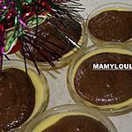 recette Crème vanille/banane/mousse au chocolat