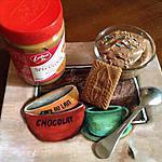 recette La mousse au chocolat et spéculoos