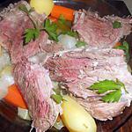recette Palette de porc demi-sel a la limousine