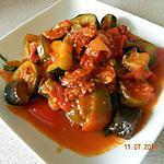 recette Ratatouille au chorizo