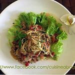 recette Spaghetti avec la sauce de curry Masaman et du lait de noix de Coco