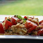 recette Tomate et œuf sauté