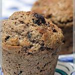 recette Muffins au vin rouge... ou blanc, au chocolat noir ... ou blanc
