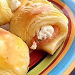 recette Croissant saumon fumé/mascarpone