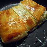 recette Feuilleté au saumon