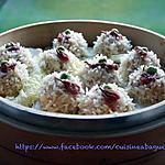 recette Perles(riz gluant) de Riz aux porc haché