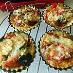 recette Tartelettes de ratatouille