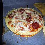 recette pizza revisitée à la fajitas (restes de galettes)