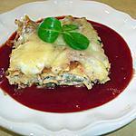 recette lasagnes aux aubergines et à la ricotta