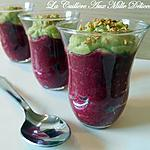 Verrine betterave rouge & avocat