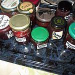 recette confitures fraises  et prunes