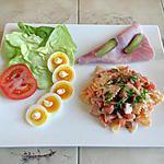 recette Salade de pâtes assaisonnement whisky, ketchup, mayonnaise