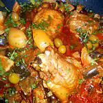 recette Tajine de dinde aux aubergines