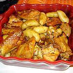 recette Poulet au four à Portugaise