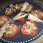 recette Salade de tomates au maqueraux