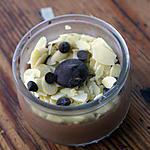 recette Béchamel au chocolat! ( photo avec amande dessus ).