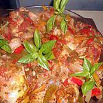 recette Lapin aux poivrons