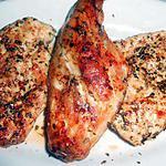 recette GRILLADES DE POULET LAPIN (Marinade provençale)