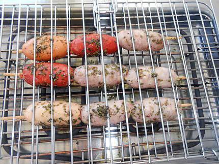 Purée corse et mixte de saucisses grillées 430