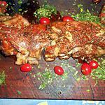 recette Poitrine d agneau en méchoui