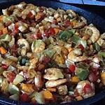 recette Wk de crevettes au curry