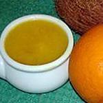 recette dip d'orange à la noix de coco