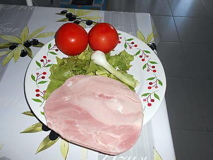 Petite assiette fraicheur 430