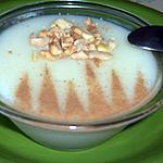 recette Mhalabia: le blanc à manger