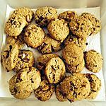 recette Cookies aux dattes et amandes concasses de mon homme