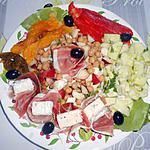 recette SALADE COMPOSEE DE PETITS RESTES