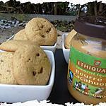 recette Ooo Cookies au beurre de cacahuètes et aux Daims ooO