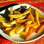 recette Frites au four maison