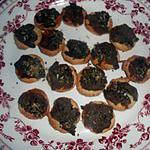 recette Petits feuilletés a la creme d anchois