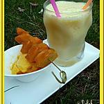 recette Dessert glacé à la mangue THERMOMIX