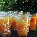 recette Soupe froide carottes, coriandre et citron