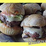 recette Mini burger