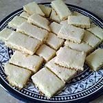 """recette Shortbreads nature (comprenez """"au beurre"""")"""
