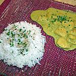 recette aiguillettes de poulet au curry au gingembre et au citron