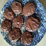 recette Cookies croustillants à l'avoine et chocolat-caramel