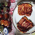 recette tartelettes    fraises poires