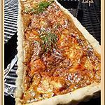 recette Tarte aux deux saumons