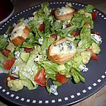 Salade de roquefort chaud